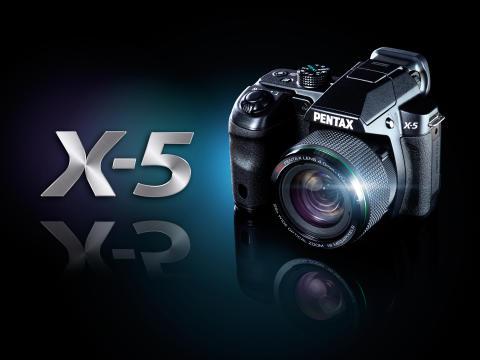 Pentax X-5 visuel
