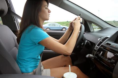 Extremt farligt att släppa blicken från vägen