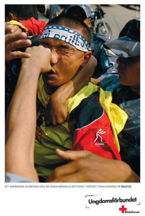Allvarliga konsekvenser efter Röda Korsets Ungdomsförbunds kinakampanj