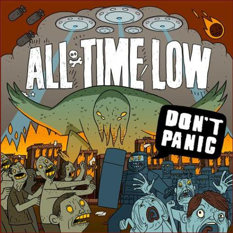 "ALL TIME LOW – ""Don´t Panic"" NYTT ALBUM på Hopeless Records med exklusiv distribution genom Sound Pollution Distribution!"