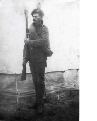 Från Limhamn till västfronten - en sjömans liv och död
