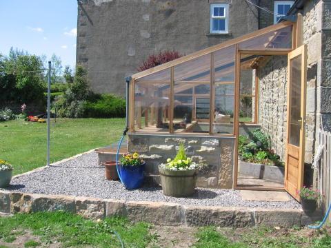 väggväxthuset i sin finaste form