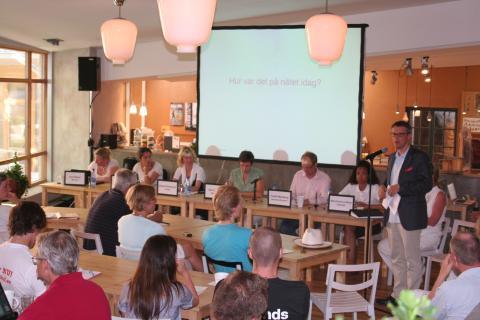 Stöd från Regeringen till Surfa Lugnt med 1 miljon kronor tillkännagavs idag i Almedalen
