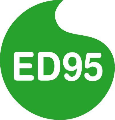 ED95 logotyp