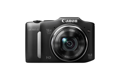 PowerShot SX160 IS BLACK FRT