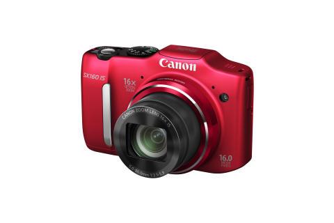 Canon PowerShot XS160 IS röd