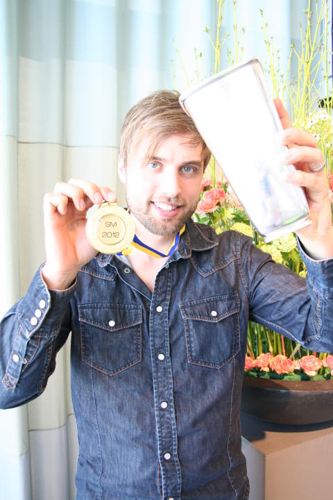 Johan Pettersson – svensk mästare i blomsterbinderi