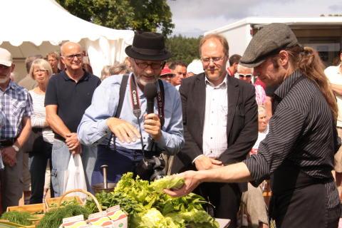 Läckö Slotts matmarknad Foto: Anna Ohlin Ek