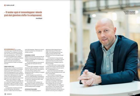 Intervju med Norconsults Jonny Ødegård i Samferdsel & Infrastruktur