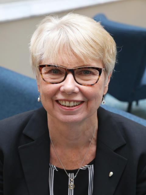 Förbundsordförande Ann-Marie Högberg
