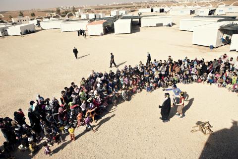 UNHCR i samarbete med Clowner utan Gränser för att flyktingbarn ska få gå i skolan