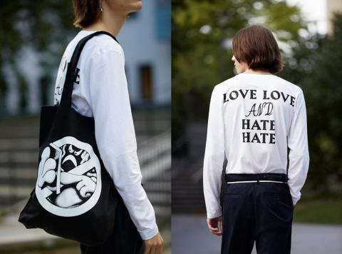 Telia lanserar Fashion against hate - en unik modekollektion mot näthat tillsammans med APLACE