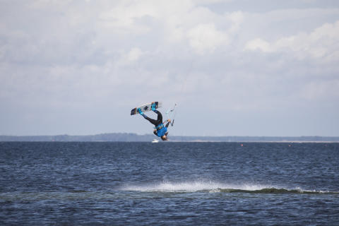 Finaltävling för Sweden Kite Freestyle Tour 2018