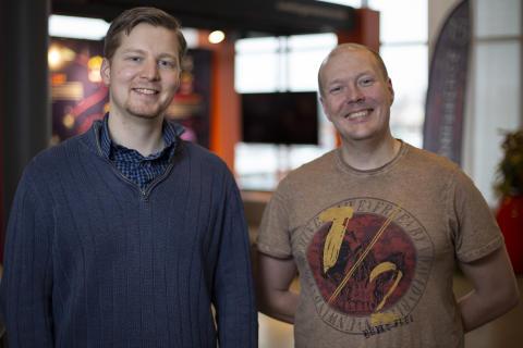 Olof Almqvist och Henrik Mellgren