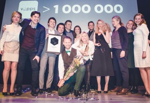 VIPPS ble det gull og Grand Prix i ANFO effekt!