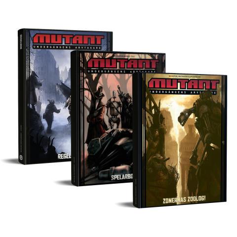 Klassikern Mutant Undergångens arvtagare släppt i nytryck av Fria Ligan