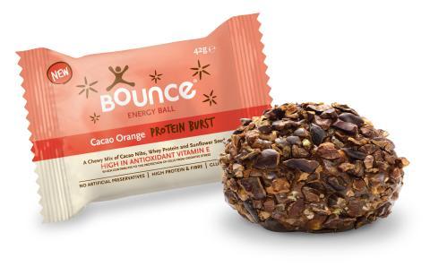 Bounce balls kakao appelsin 42 g