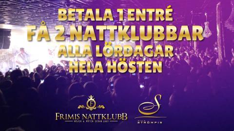Lördagar + Villa Strömpis + Frimis Nattklubb = Sant