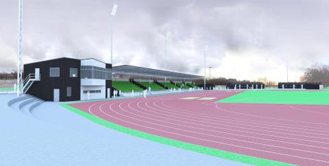 Pressinbjudan: Byggstart för Norrköpings nya friidrottsarena