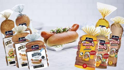 Flere foretrekker Hatting pølse- og hamburgerbrød