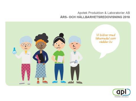 APL publicerar års- och hållbarhetsredovisning 2018