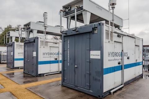 Elektrolyseanlage in Aberdeen