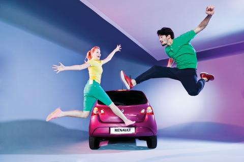 Fest og farver i den nye Renault Twingo