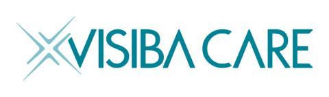 Visiba Care - Logotyp Horisontell