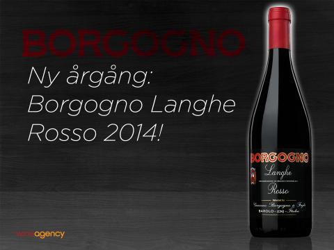 Ny årgång: Borgogno Langhe Rosso 2014!