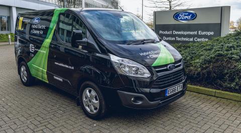 Ford Transit Custom Plug-in Hybrid 2018