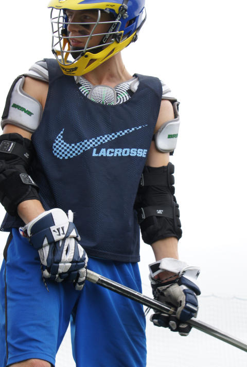 80 lacrossespelare intar Arcushallen i Luleå