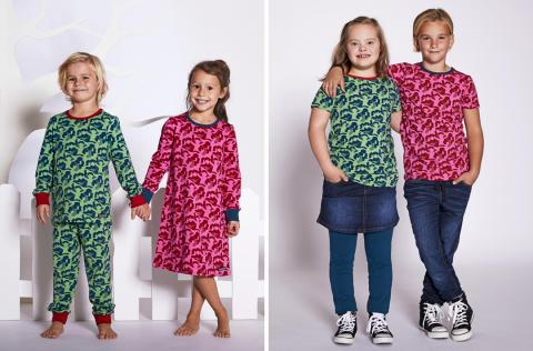 Villervalla gör klädkollektion för Barnfonden