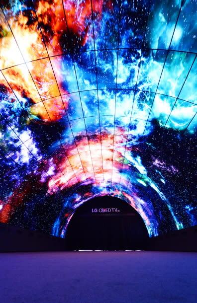 OLED-tunnel IFA 2016 bild 2