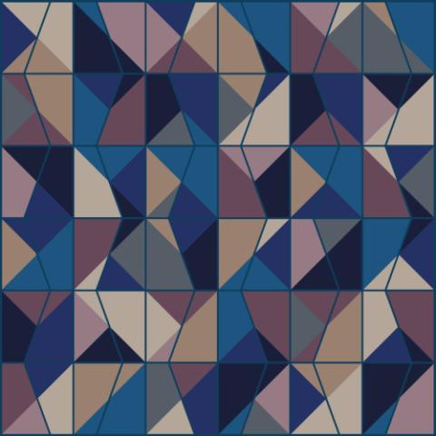 Interface sponsrar textilplattor till utställningen Broken Illusions med Colour Emotions