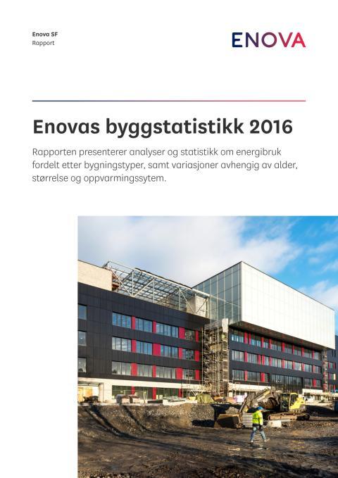 Rapport: Enovas byggstatistikk 2016