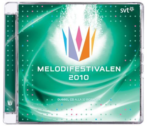 CD:n Melodifestivalen släppt bara på Statoil