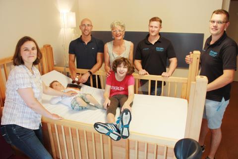 "Ortmaier GmbH spendet Pflegebett an ""Berliner Herz"" Kinderhospiz"