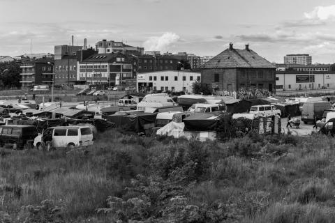Pressbild 6. Folkhemmet och mellanrummet.