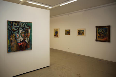 Die Ausstellung zeigt 47 Exponate von Ernst Stadelmann