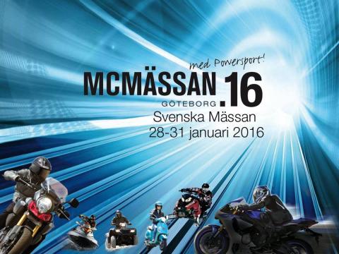 MC Mässan 2016, med Powersport!
