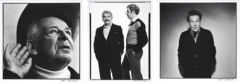 New acquisition: Photographic portraits by Hans Gedda