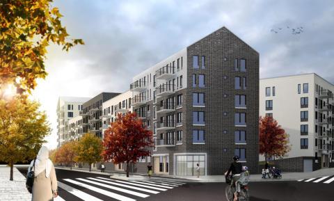 Einar Mattsson bygger 250 nya bostäder i Barkarbystaden