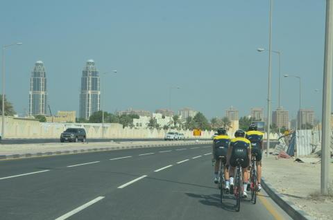 Herrjuniorerna på banrek i Doha