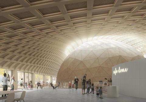Elding Oscarson ritar Stockholms smartaste hus i trä vid Tekniska museet