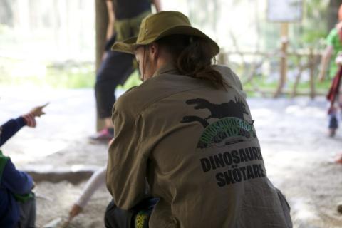 Sommarjobb som dinosaurieskötare