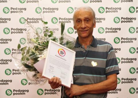 Årets Vikarie 2017 är kemisten Dimitrios Koutsouris, 67 år, från Kista