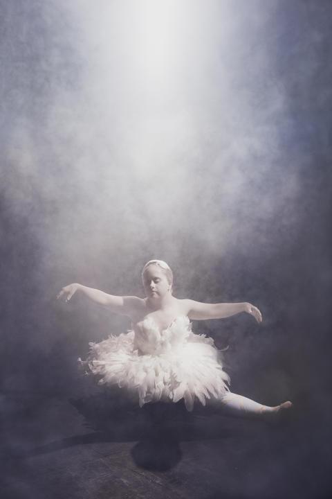 Prima Ballerinan, från utställningen Ikoner - en utställning om att få finnas. Foto Emma Svensson