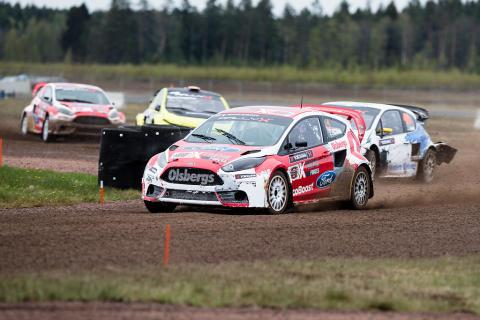 RallyX rond två i Strängnäs