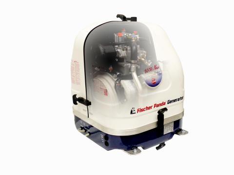 Hi-res image - Fischer Panda UK - the Fischer Panda 5000i Neo generator