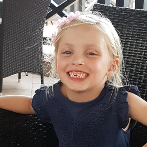 You just don't imagine how quickly life can change. We had just returned in high spirits from a family holiday and only a few days later Faith was in theatre having a brain tumour removed